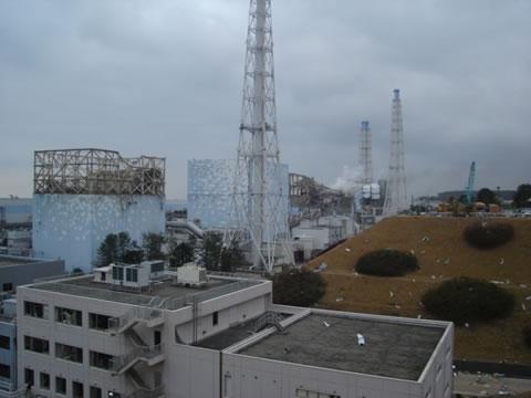 Brennstäbe fressen Löcher in Reaktorkessel in Fukushima I - © TEPCO